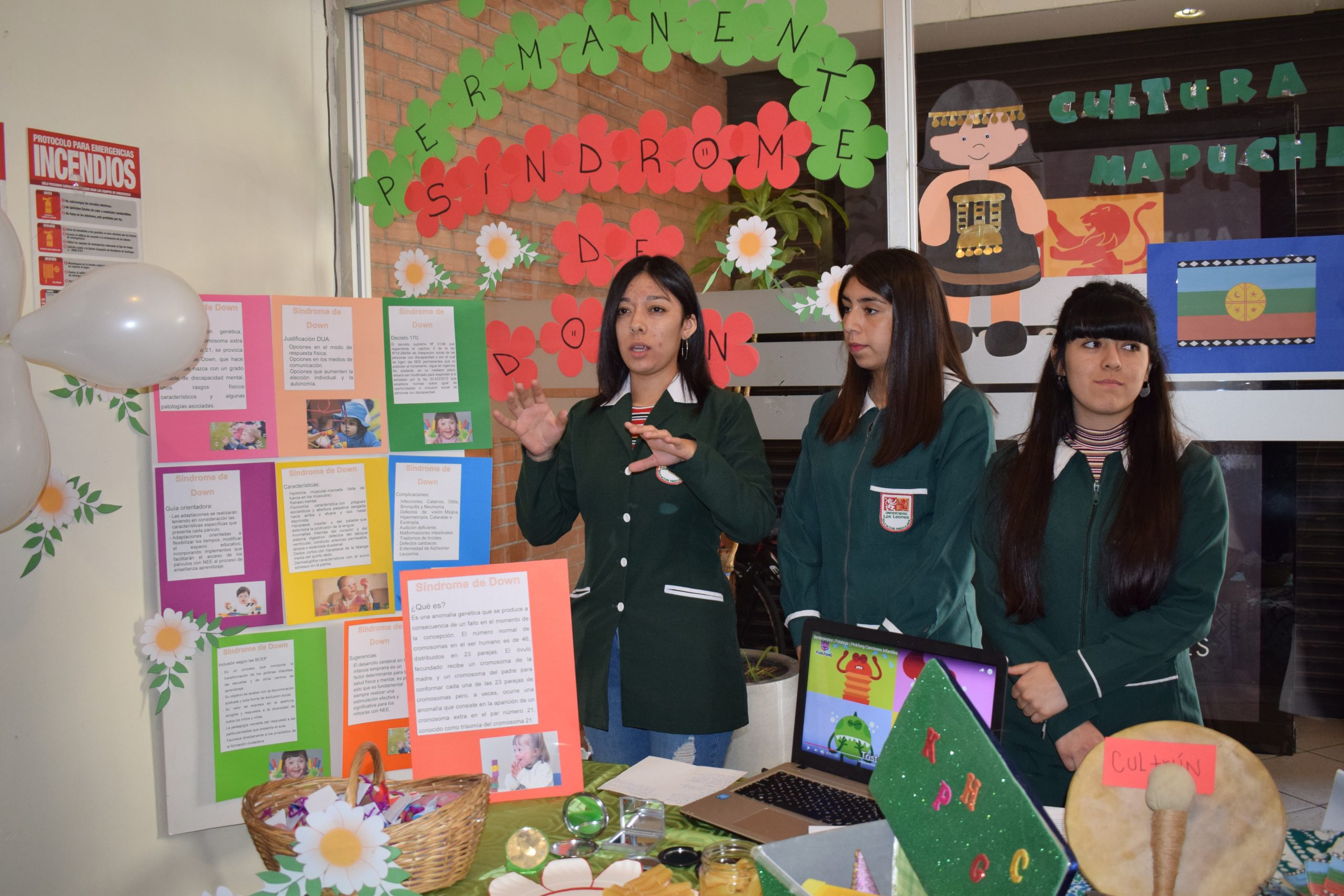 Futuras educadoras de párvulos intervinieron la ULL con proyectos educativos de diversidad e inclusión
