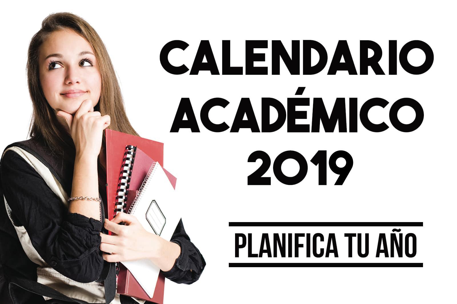 Calendario Academico Primer Semestre 2019