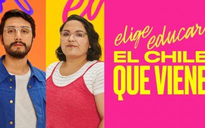 """""""Las carreras no deberían tener género y más hombres deberían trabajar en jardines infantiles"""" Elige educar Chile"""